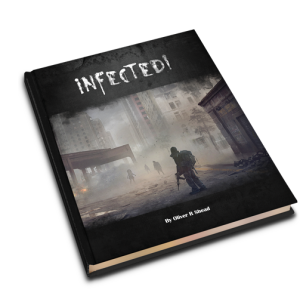 Infected Zombie RPG Cover